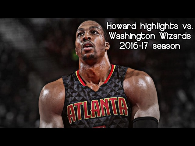 Dwight Howard 14 points @ Wizards (NBA RS 2016/2017) - 22.03.2017