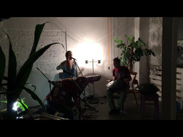 DLA Acoustic (Guitar, Piano Hang) - Live in loft (DTH Studios) 18.09.2017 part 2