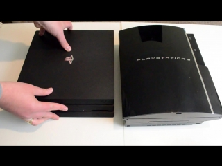 How big is the PS4 Pro Size Comparisons - PS4Slim, Xbox OneS, PS3, PS2, PS1!