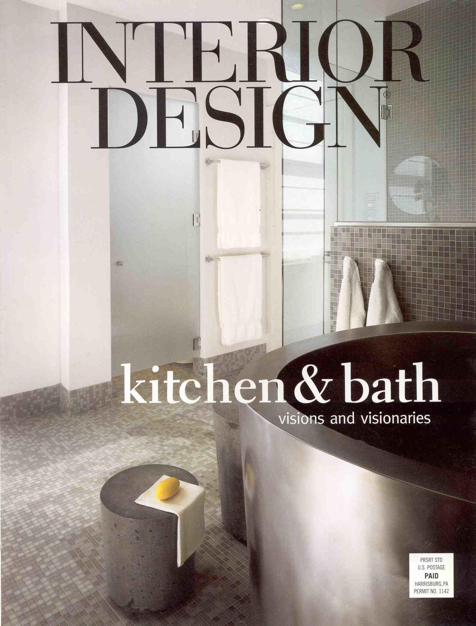 Журнал архитектура Interior Design