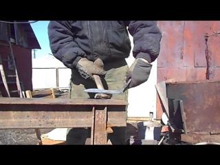 Ковка ножа из напильника.Orc technology_)