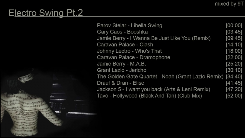 Electro Swing Mix Ep.2 (mixed by 9T)
