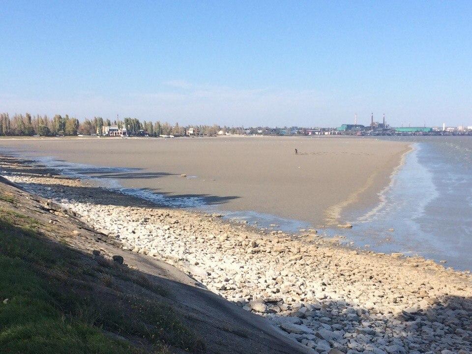 В Таганроге из-за ветрового сгона воды возможны очередные перебои с водоснабжением