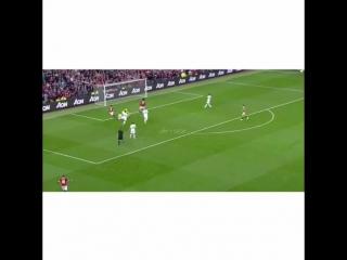 Martial debut goal v Liverpool