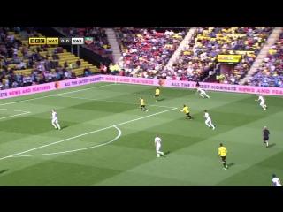 Уотфорд - Суонси Сити 1:0 видео