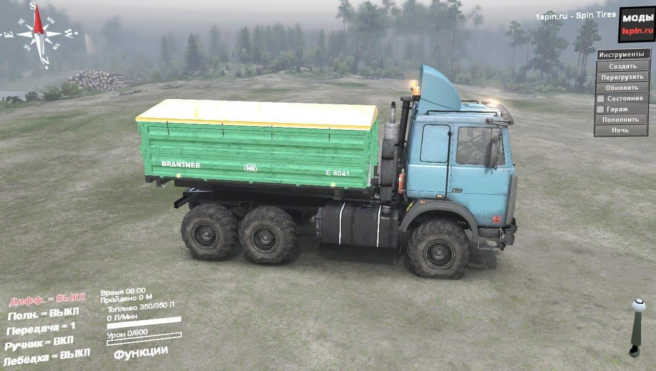 Маз-6317 для Spintires - Скриншот 3