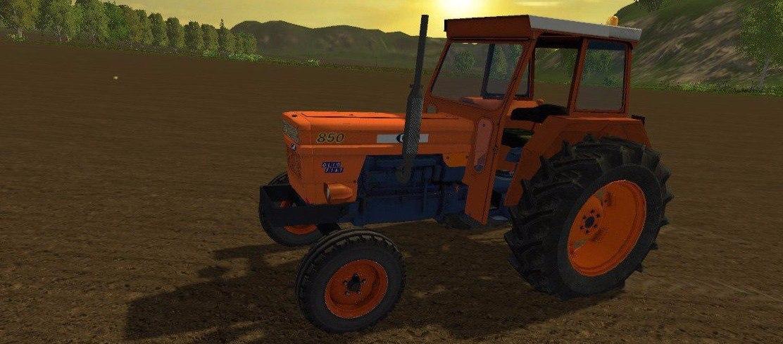 Колесный трактор «FIAT OM 850»