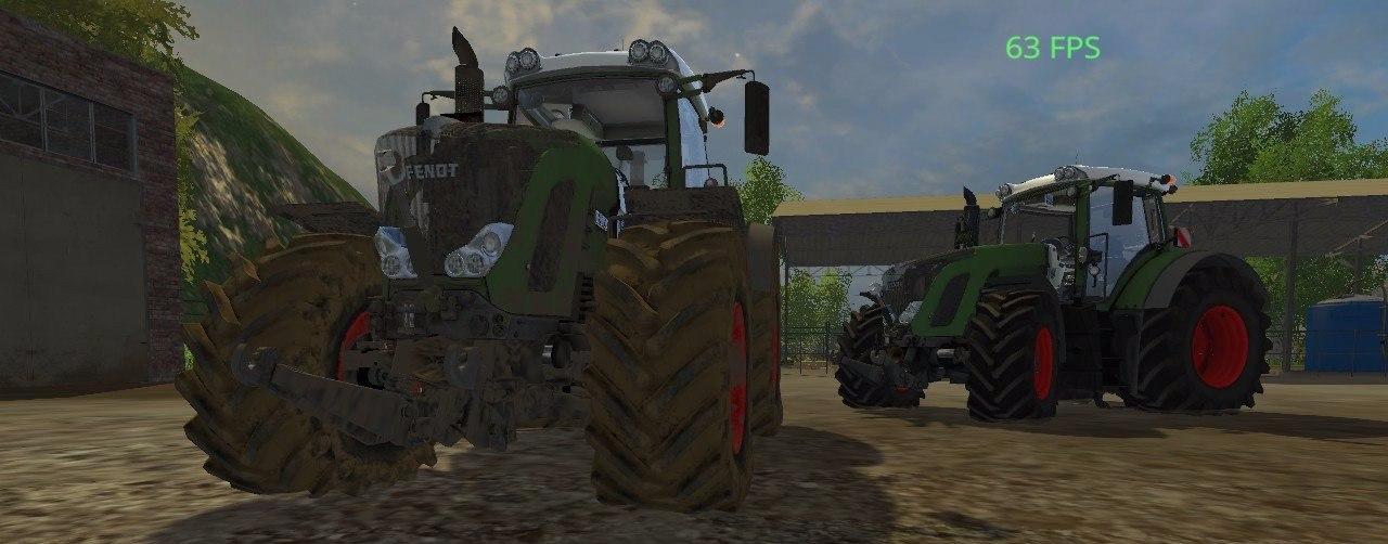 Колесный трактор «Fendt 939»