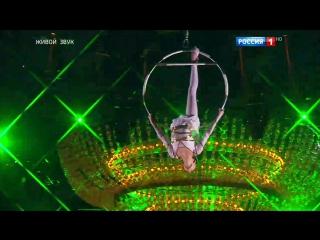 Синяя птица. Дарья Ивченко. Цирковое искусство