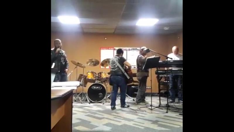 Сами себе рок-коллектив rbmcckz rbmcc_astana motoclub rock репетиция цой кукушка астана