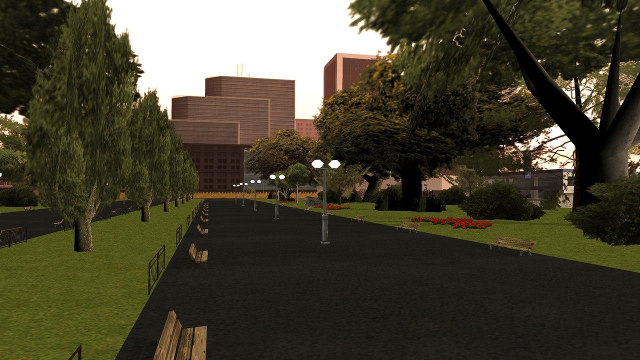 [Маппинг] Парк San-Fierro Автор: The Free Company  CkC9CQCYXyM