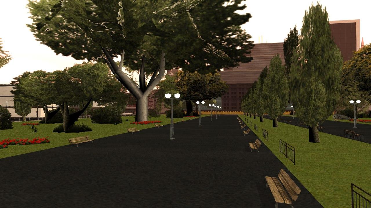[Маппинг] Парк San-Fierro Автор: The Free Company  Ze3Codcf4b4