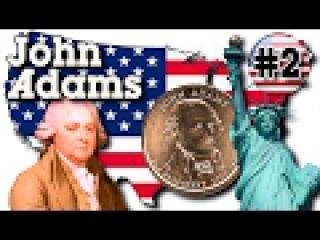 John Adams $1 (United States of America) - Джон Адамс 1 доллар