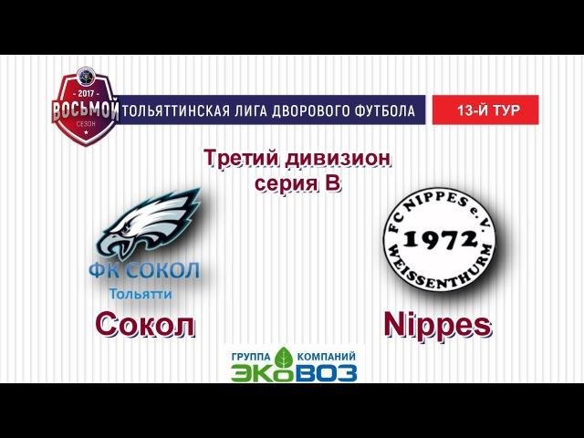 ТЛДФ 2017 третий дивизион Серия В Сокол Nippes Обзор