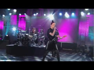 Garbage 2012 HD Jimmy Kimmel Live - Blood for Poppies