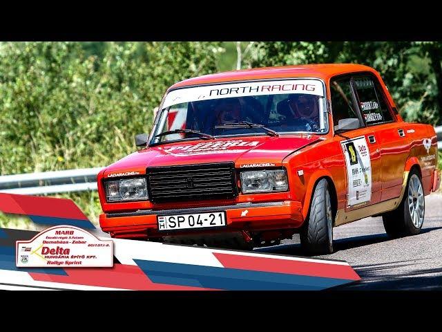 Bodor Juhász Delta Domaháza Zabar Rallye Sprint 2017 Versenyzői film