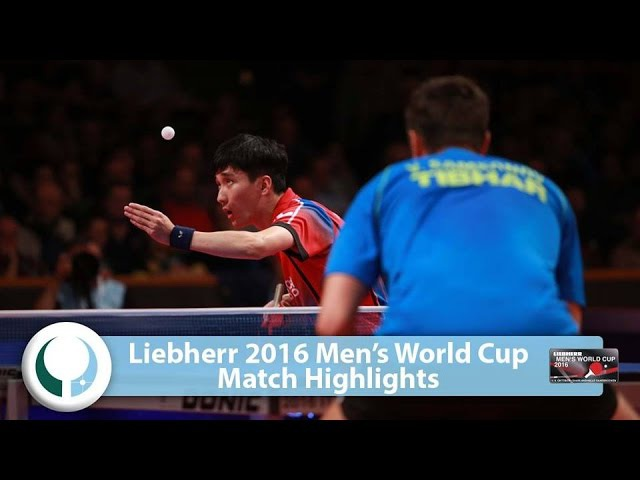 2016 Men's World Cup Highlights I Vladimir Samsonov vs Lee Sangsu (R16)