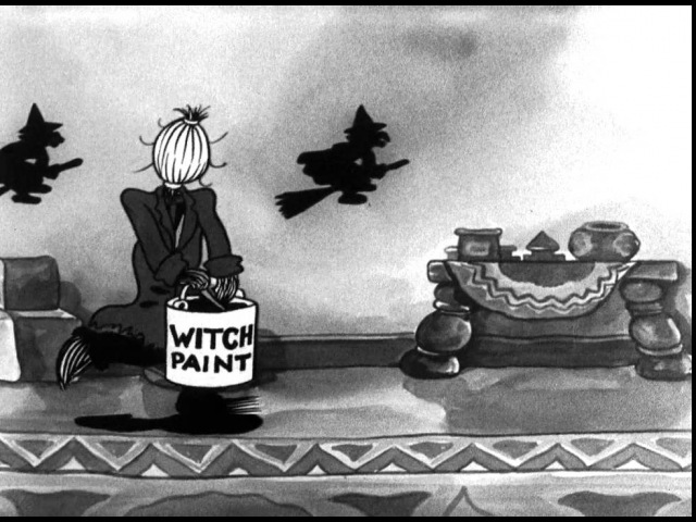 39 серия - Betty Boop's Halloween Party (1933)