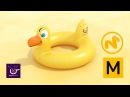 Marvelous Designer Modo create and animate a Duck Float