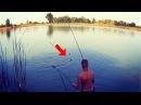 Ловля Карпа на Супер Уловистую Снасть Рыбалка на Красивом Озере Летом.