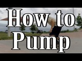 How to Pump to Gain Extra Speed on a Skateboard