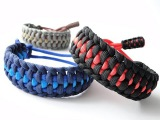 How to Make a Paracord Mated Half Hitch Survival Bracelet -Mad Max Adjustable Style-Cobra End Knot