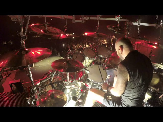 Disturbed on Tour Ten Thousand Fists Drum Footage
