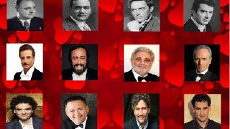 Grandes Tenores del Siglo XX - Great Tenors of 20 Century