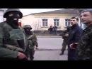 Разговор Украинских военных с Российскими солдатами в Феодосии.