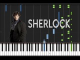 BBC Sherlock - Piano Medley Synthesia Tutorial