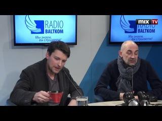 """Российский актер театра и кино Даниил Страхов в программе """"Встретились, поговор ..."""