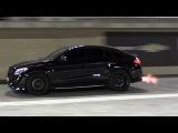 Mercedes-AMG GLE63s RS800 PP Performance - BIG FLAMES &amp 14 Mile Drag!