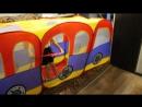 Игровая палатка автобус