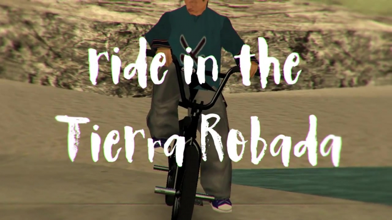 CatBmx - JasonDirty rides on the BigPegs bike in the Tierra Robada