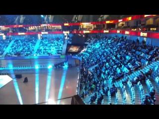 View from inside shanghai oriental sports center. #dac2017