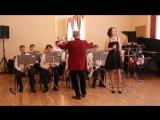 Эстрадно-джазовый оркестр. Солистка Светлана Кузнецова