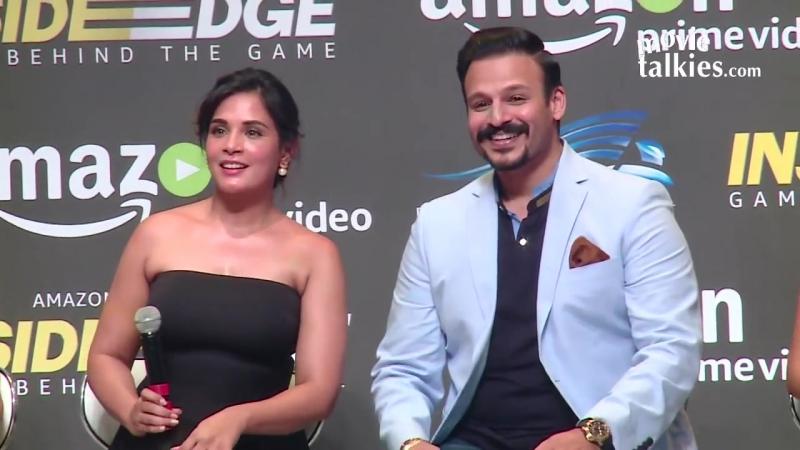 Inside Edge Trailer Launch _ Vivek Oberoi, Richa Chadda, Farhan Akhtar