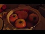 Моченые яблоки (русская кухня). Sour Apples (Russian cuisine)