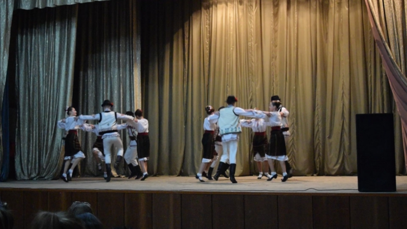 Ansamblul de dansuri populare ,,Hora Moldovei''