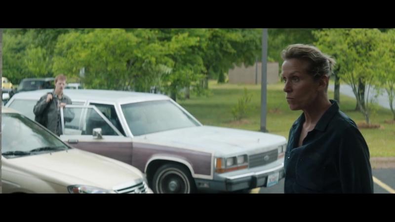 Три рекламных щита на границе Эббинга, Миссури / Three Billboards Outside Ebbing, Missouri.Фрагмент (2018) [1080p]