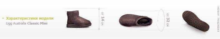 размеры угг мини