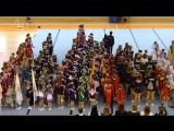 Парад-открытие соревнований, г.Валдай, 18022017