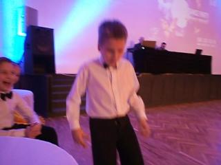 25.03.2017 Pro-Am Party наш Зайчик танцует, пока взрослые танцуют)))