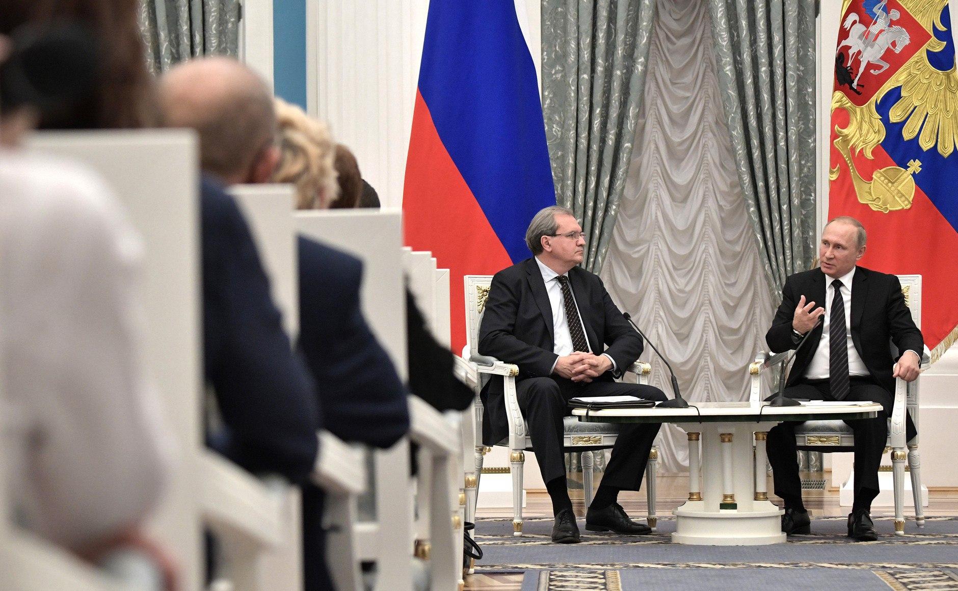 Дискуссия членов ОП РФ с Президентом