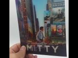 Walter Mitty Lenticular Video Live!  Manta Lab