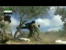 Поражение правительственного танка из ПТРК боевиками из 2-ой туркменской прибрежной дивизии