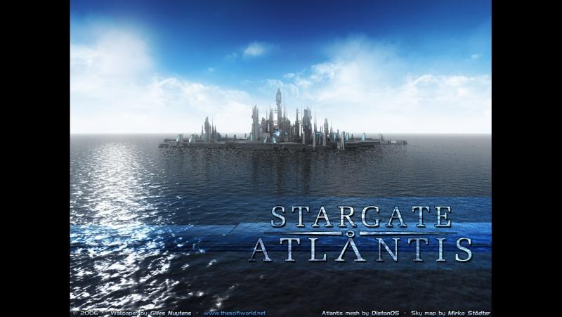 Звёздные Врата Атлантида 1 сезон 1-2 серия