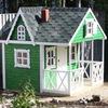 Детские домики из дерева для улицы и дачи