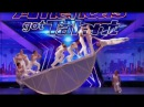 Diavolo Danger Acrobatic Group DEFY Human Nature Auditions 2 America's Got Talent 2017