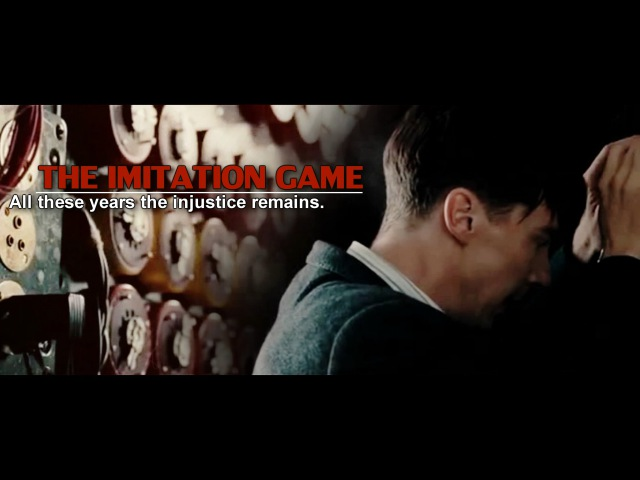 All these years the injustice remains • [The Imitation Game]